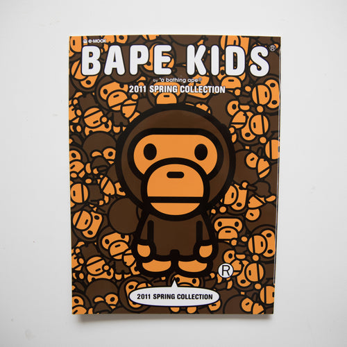 Bape Kids Spring 2011 Collection Magazine + Sticker Sheet (USED)