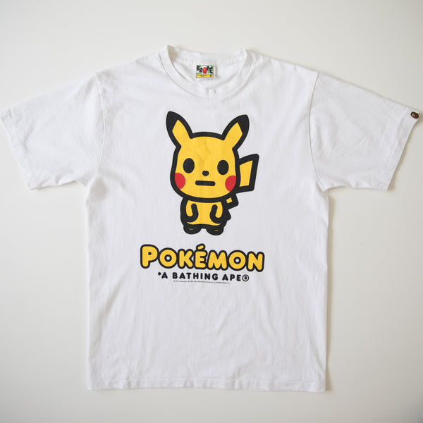 Bape x Pokemon Pikachu Tee (Medium / USED)