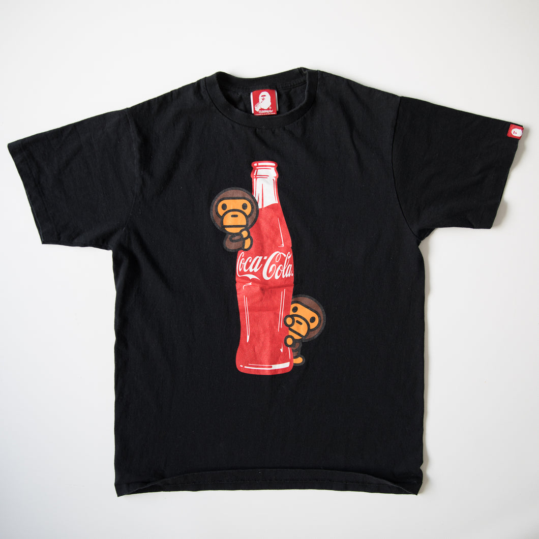 Bape x Coca Cola Baby Milo Bottle Tee (Medium / USED)