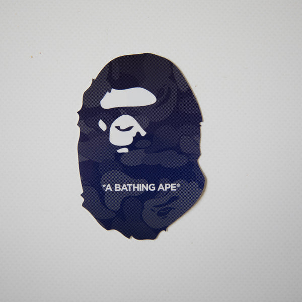Bape Ape Head Blue Camo Sticker (MINT)
