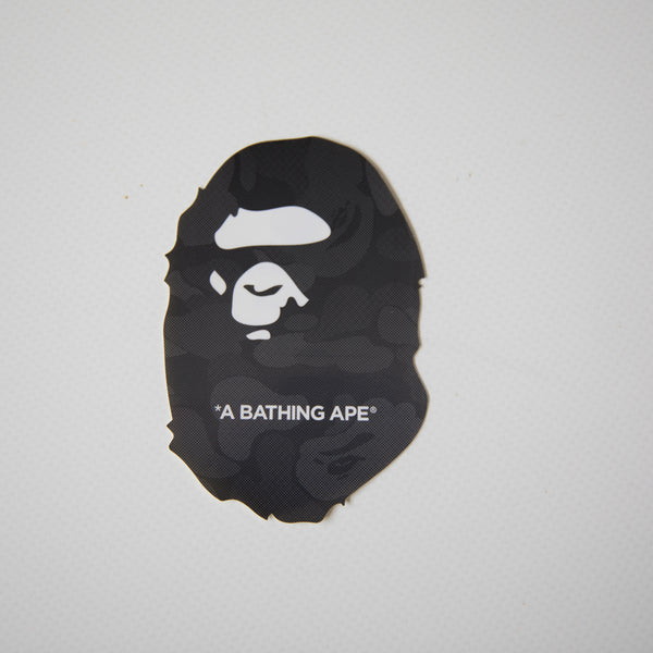 Bape Ape Head Black Camo Sticker (MINT)