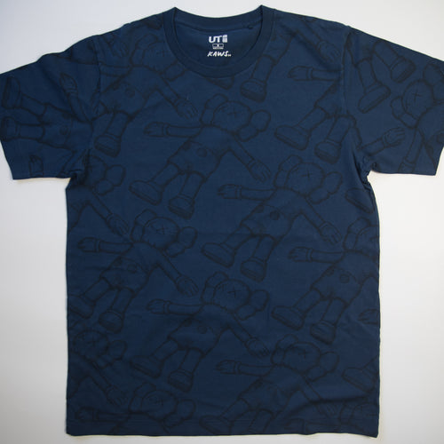 Kaws x Uniqlo Holiday Companion Tee Navy (Medium / USED)