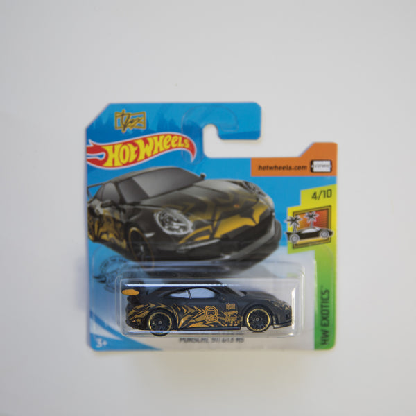 Hot Wheels - Tanner Fox - Porsche 911 GT3 RS - Diecast Car (MINT)