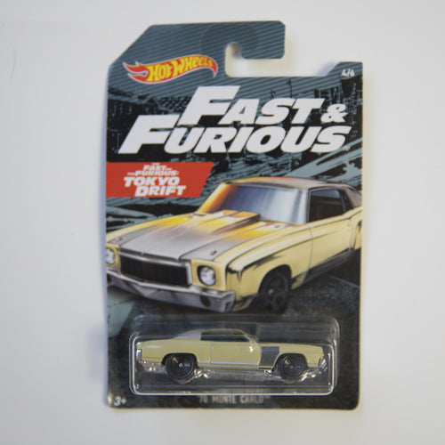 Hot Wheels - Fast & Furious Tokyo Drift - '70 Monte Carlo - Diecast Car (MINT)