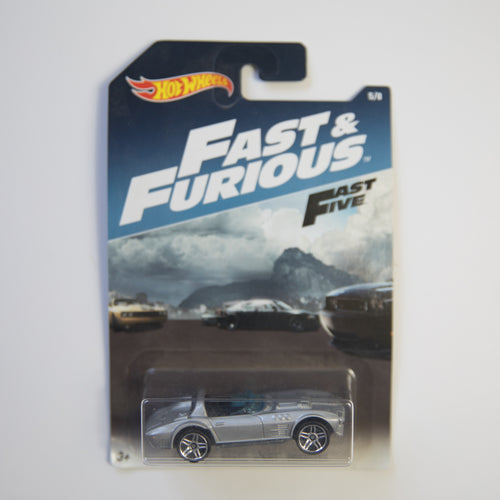 Hot Wheels - Fast & Furious Fast Five - Corvette Grand Sport Roadster - Diecast Car (MINT)
