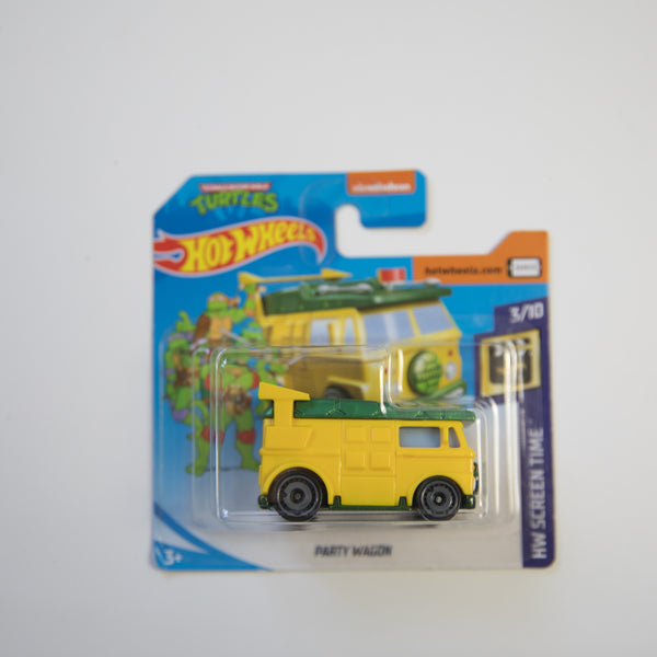 Hot Wheels - Teenage Mutant Ninja Turtles - Party Wagon - Diecast Car (MINT)