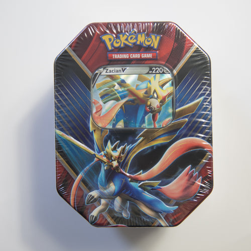 Pokemon - Zacian V - Legends of Galar Tin (MINT)
