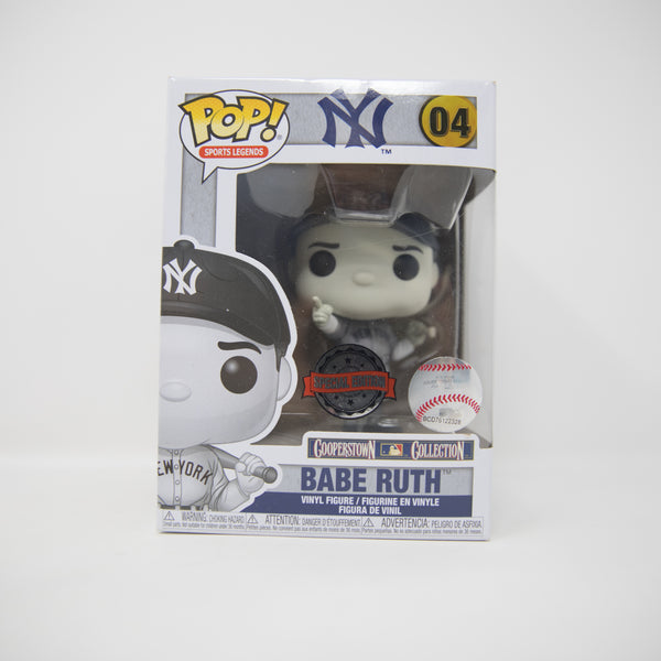 Funko POP! MLB New York Yankees #04 - Babe Ruth - Cooperstown Collection - Special Edition - Vinyl Figure (MINT)