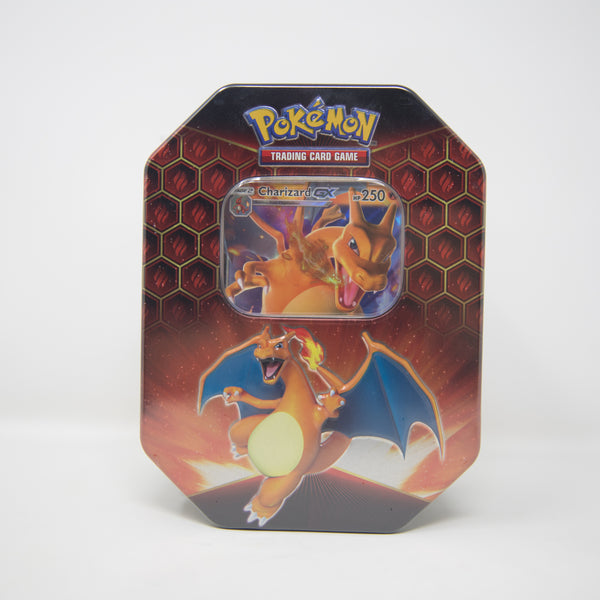 Pokemon - Charizard GX - Hidden Fates Tin (MINT)