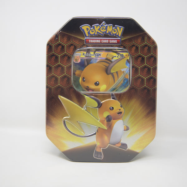 Pokemon - Raichu GX - Hidden Fates Tin (MINT)