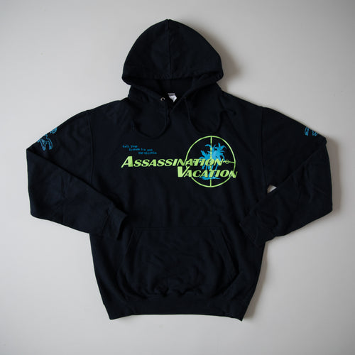 Drake Assassination Vacation Europe Tour 2019 Hoodie (Large / USED)