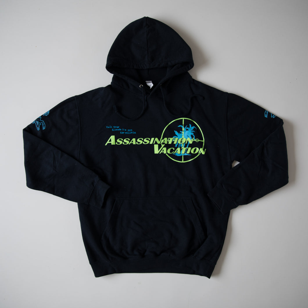 Drake Assassination Vacation Europe Tour 2019 Hoodie (Large / USED
