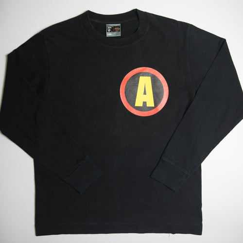 Bape Night Ape Head Long Sleeve Tee (Medium / USED)