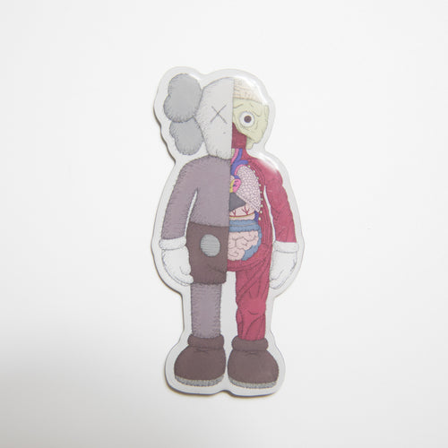 KAWS Companion Flayed Magnet Brown (MINT)