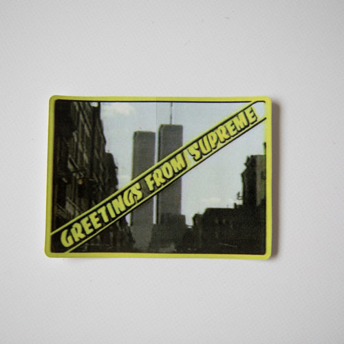 Supreme Greetings Sticker (MINT)