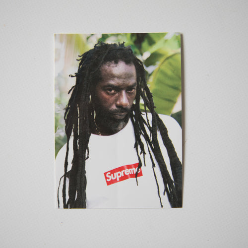 Supreme Buju Banton Sticker (MINT)