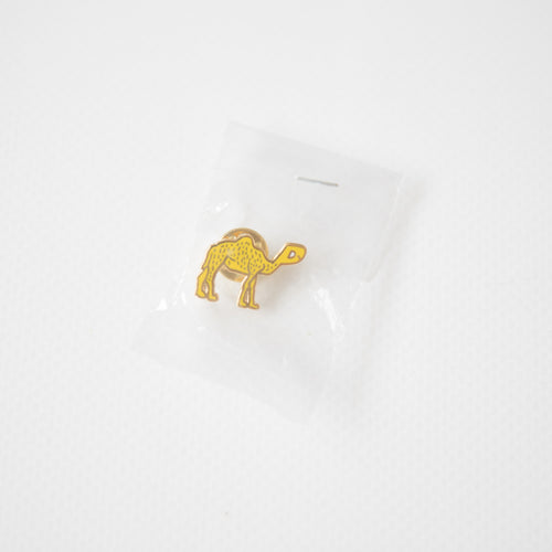 Palace Gold Camel Badge Metal Pin (NEW)
