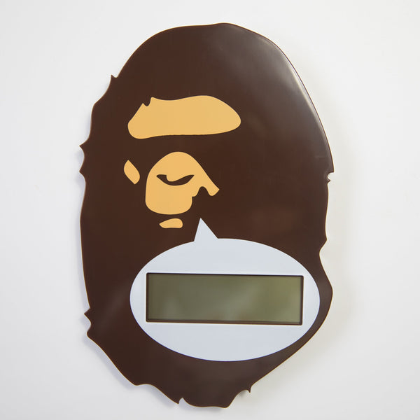 Bape Ape Head Digital Clock (USED)