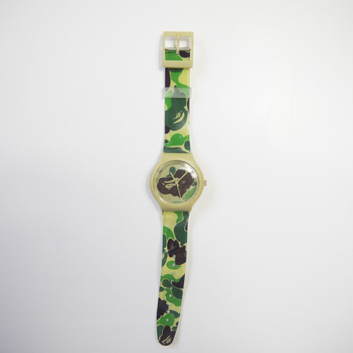 Bape Green Camo Watch (MINT)