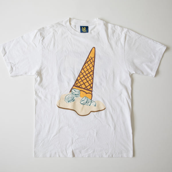 Billionaire Boys Club Dollar Ice Cream Tee (Medium / USED)