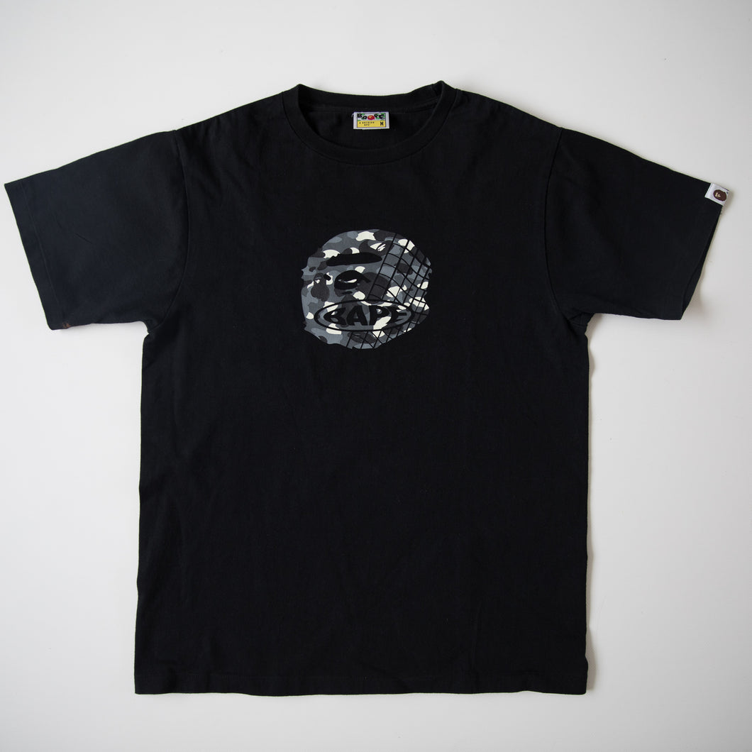 Bape City Camo Ape Head Tee (Medium / USED)