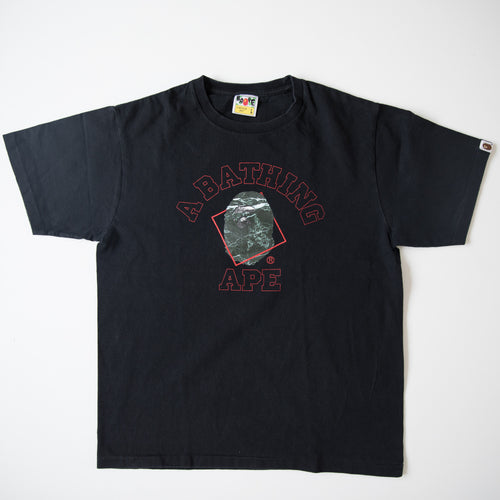 Bape College Tee (Large / USED)