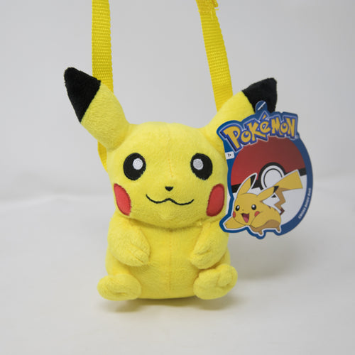 Pokemon Plush Cross-Body Shoulder Bag Pikachu (NEW)