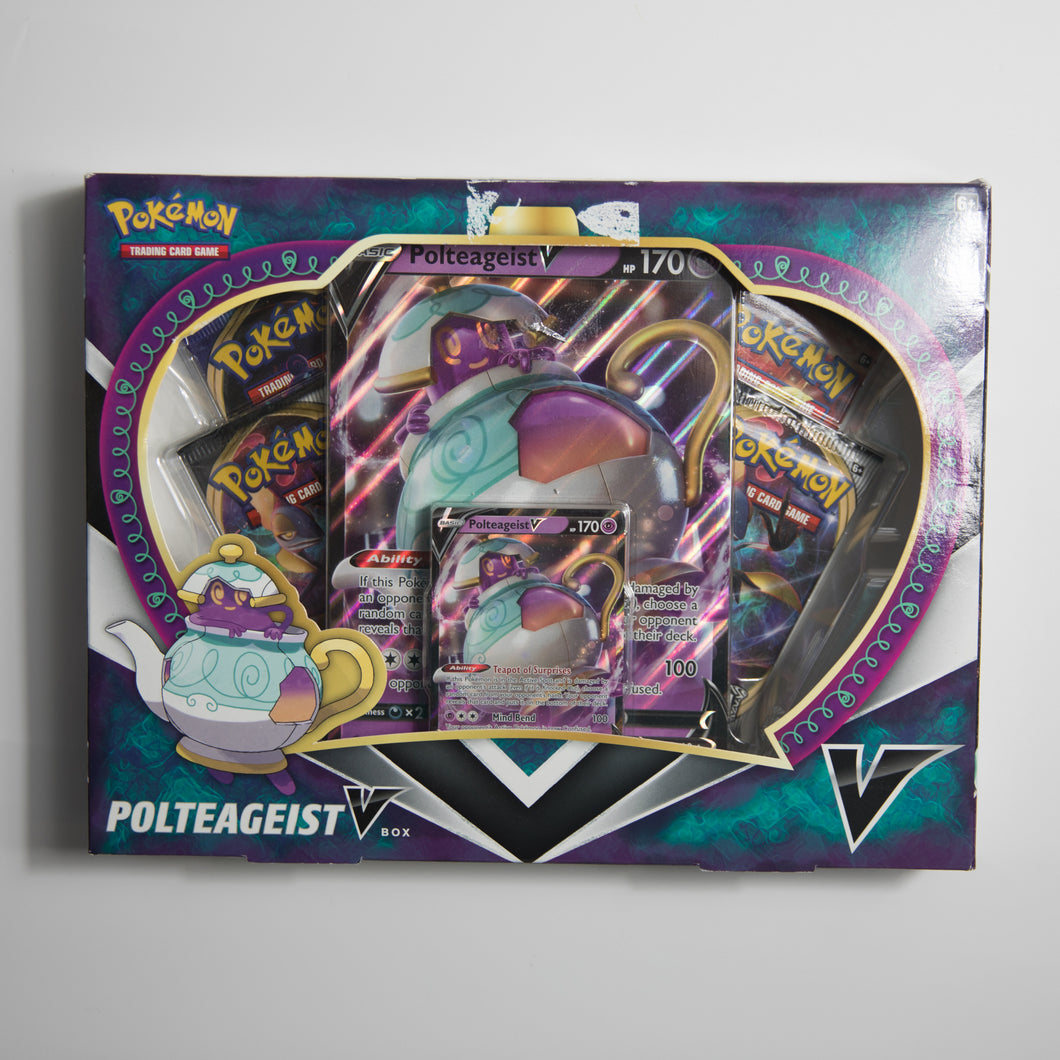 Pokemon Polteageist V Box (NEW)