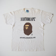 Bape ASNKA Ape Head Tee (Large / USED)