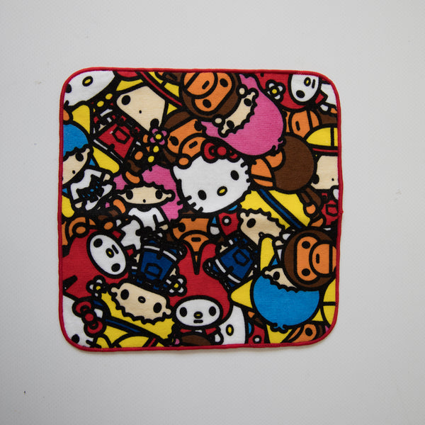 Bape Baby Milo x Sanrio / Hello Kitty All Safari Hand Towel (NEW)