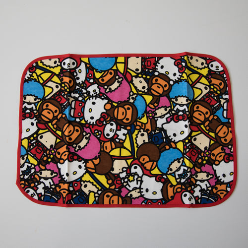 Bape Baby Milo x Sanrio / Hello Kitty All Safari Lunch Mat (NEW)