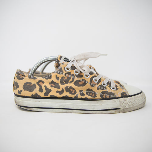 Bape Apesta Yellow Leopard Camo Sneaker (UK8 / USED)
