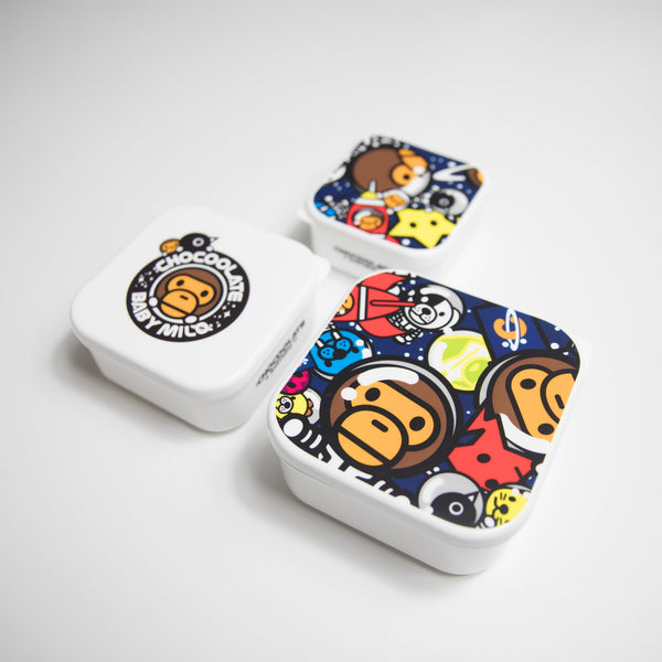 Bape Baby Milo Lunch Box Set of 3 (NEW)