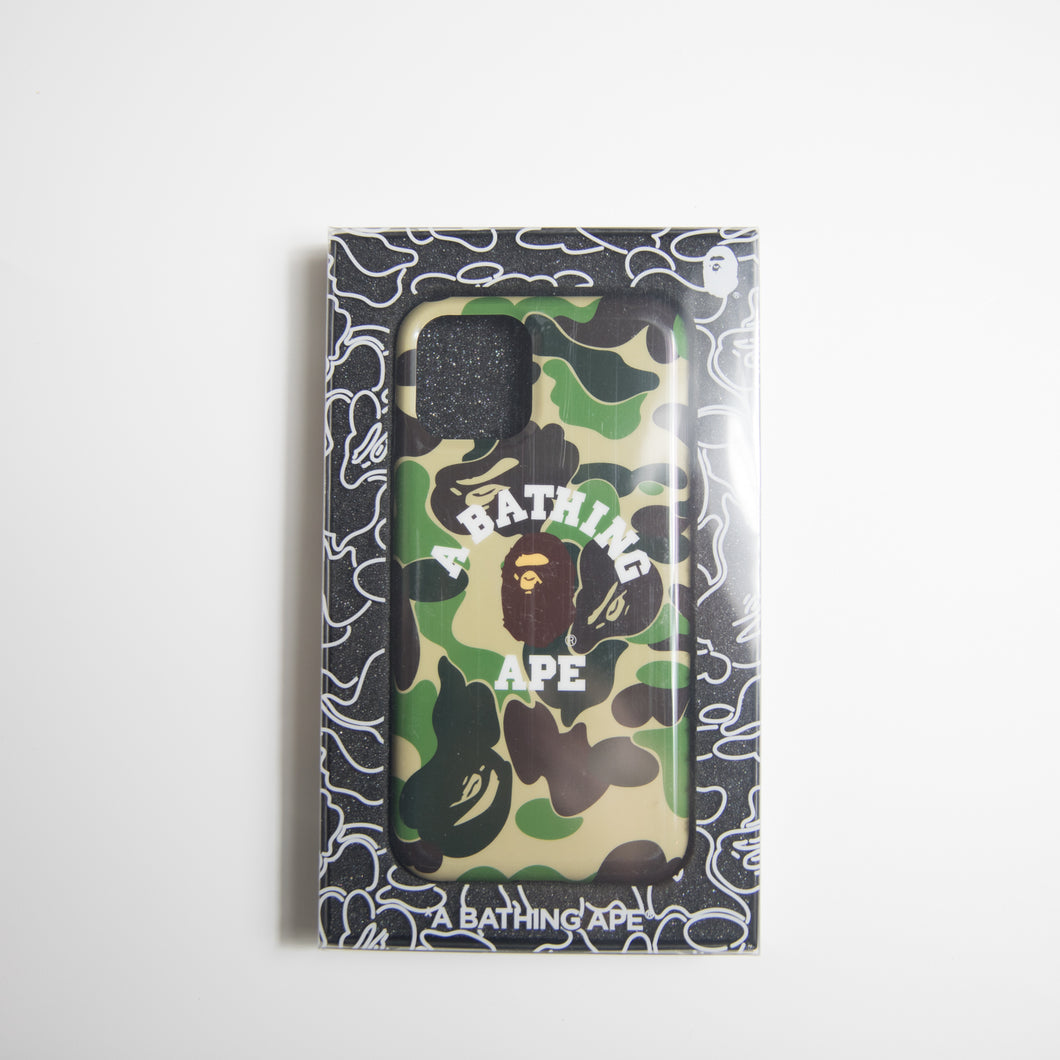 Bape Green Camo iPhone 11 Pro Case (USED)