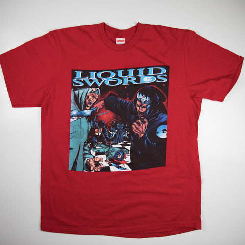 Supreme Liquid Swords Tee (Large / USED)