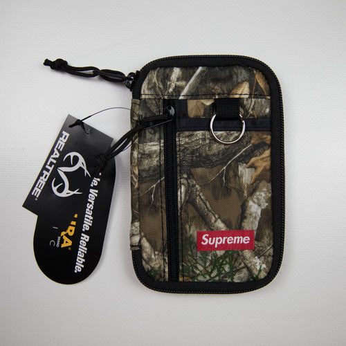 Supreme Small Zip Pouch Real Tree Camo (NEW)