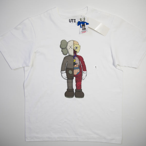 Kaws x Uniqlo Flayed Companion Tee White (Small / NEW)