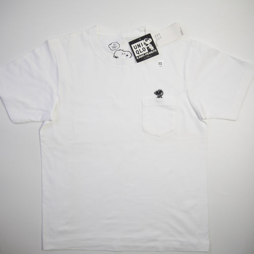 KAWS x Uniqlo x Peanuts Snoopy Pocket Tee (XS / NEW)