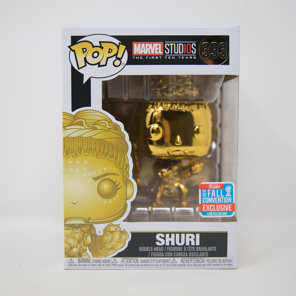 Funko POP! Marvel #393 - Shuri - Golden Special Edition (MINT)