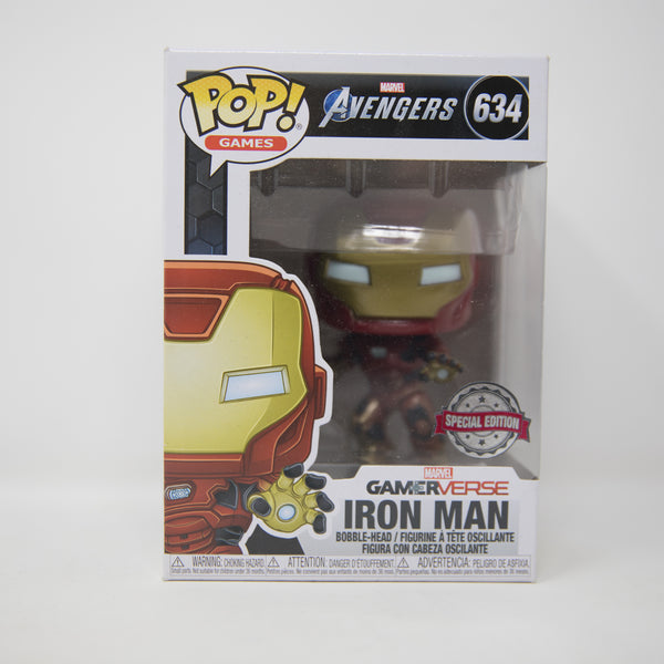 Funko POP! Avengers Marvel #634 - Iron Man - Bobble Head Special Edition (MINT)