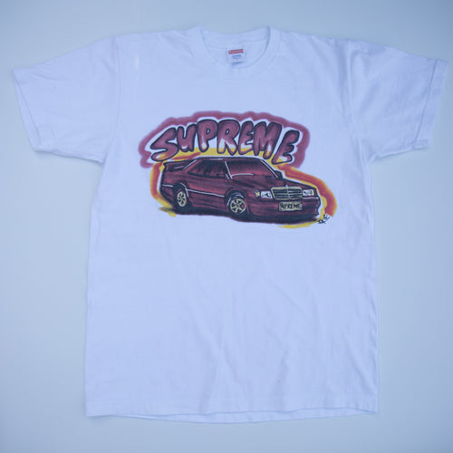 Supreme Mercedes Benz 190E Tee White (Large / USED)