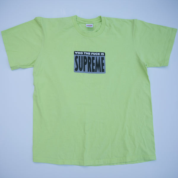 Supreme Who The Fuck Tee (Medium / USED)