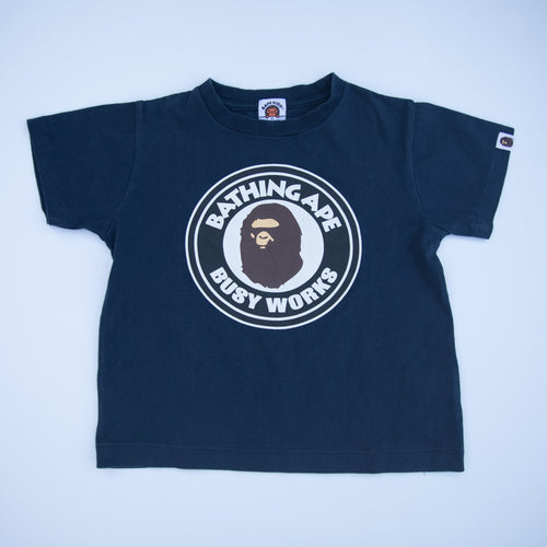 Bape Kids Busy Works Tee (120cm / USED)