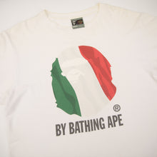 Bape Italy Ape Head Tee (Medium / USED)
