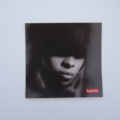 Supreme Mary J. Blige Sticker (MINT)