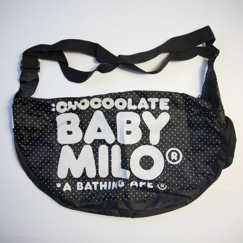 Bape Baby Milo Foldable 2 in 1 Chocoolate Waistbag (MINT)