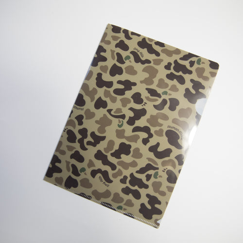 Human Made Camo Plastic Folder (NEW)