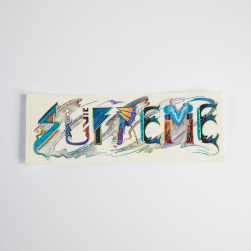 Supreme Trip Reset Sticker (MINT)