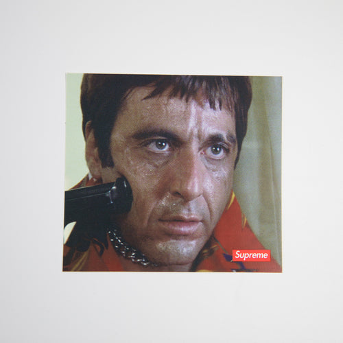 Supreme x Scarface Shower Sticker (MINT)