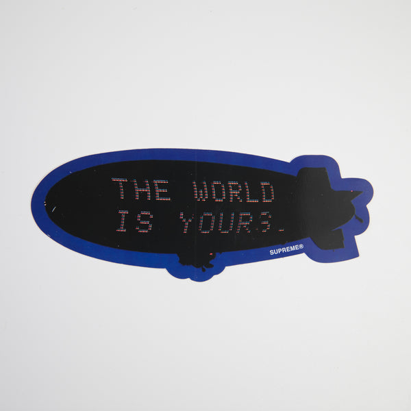 Supreme x Scarface Blimp Sticker (MINT)